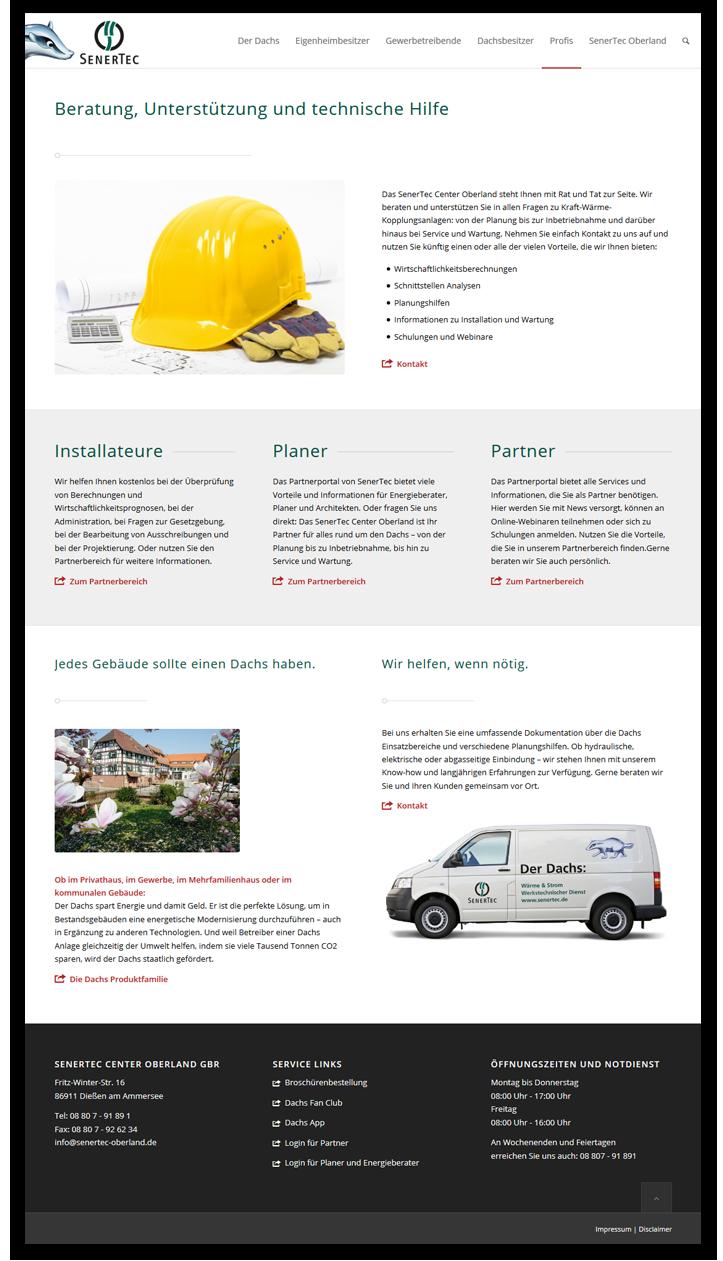 SenerTec Oberland Der Dachs - Innenseite