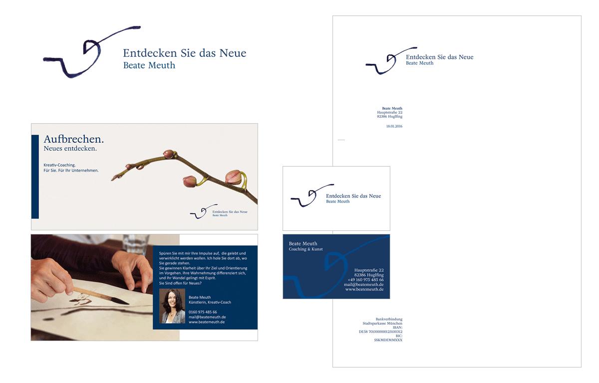 Tina Thanner Grafikdesign, Beate Meuth CD