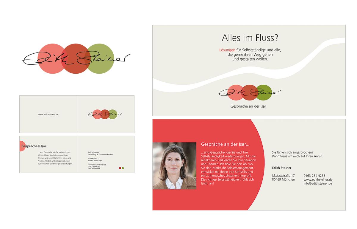 Tina Thanner Grafikdesign, Edith Steiner