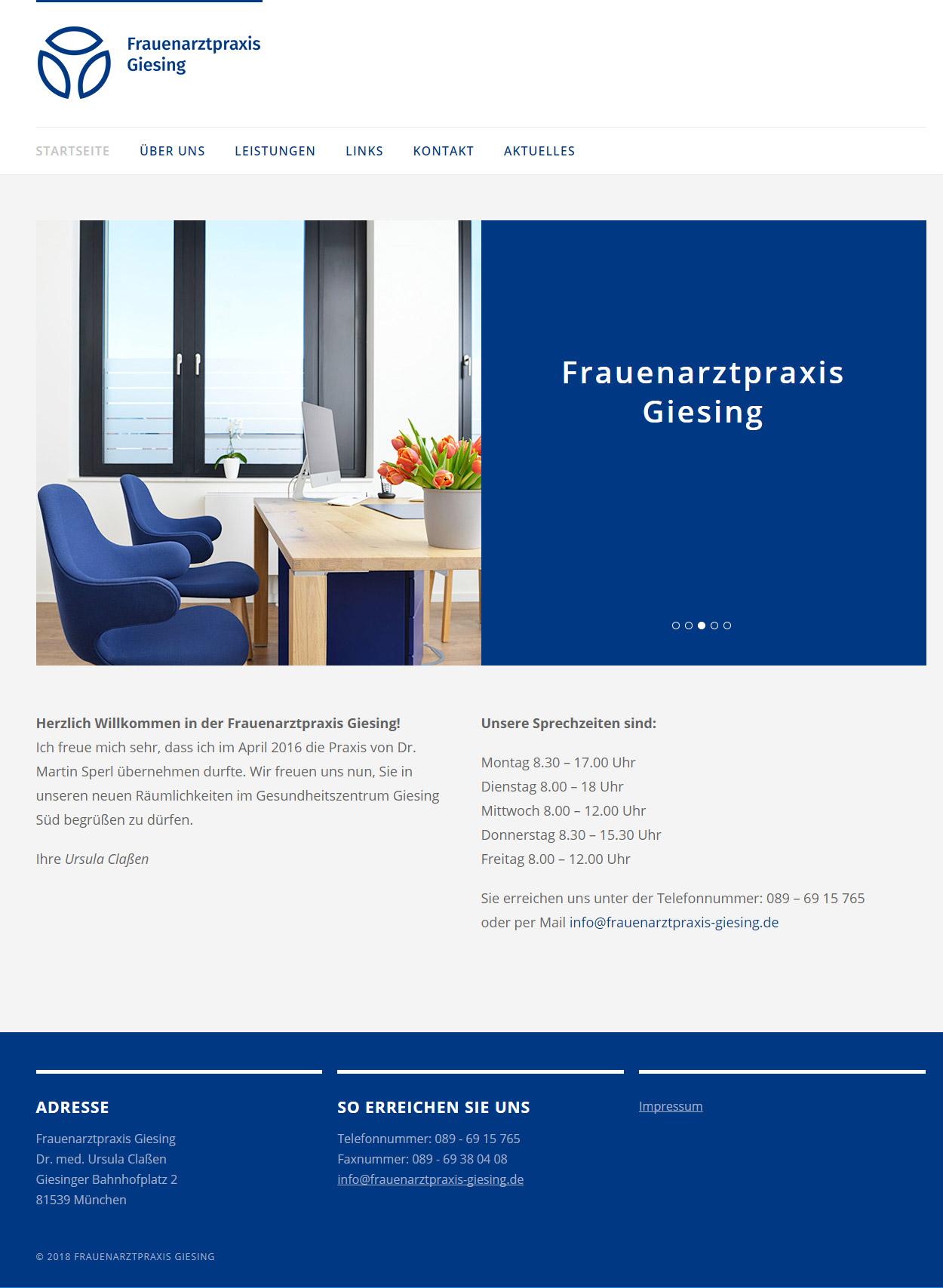 Frauenarztpraxis Giesing, München