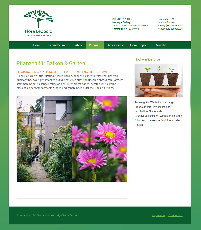 Flora Leopold Relaunch