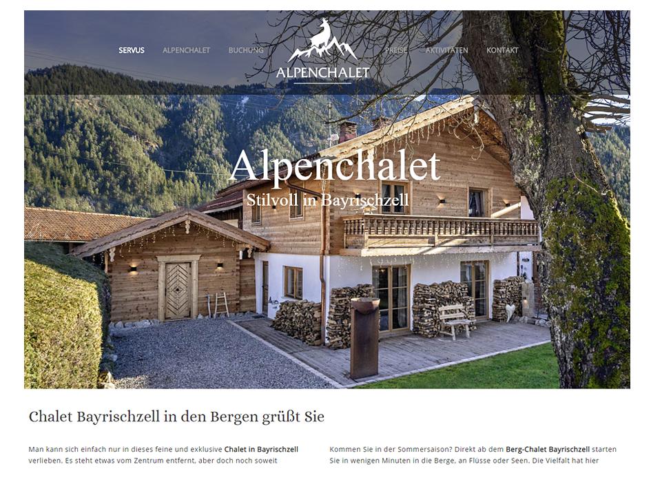 Alpenchalet Bayrischzell Ferienhaus