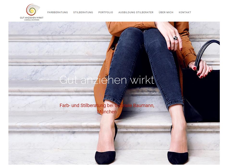 Gut anziehen wirkt - Gabriele Baumann München